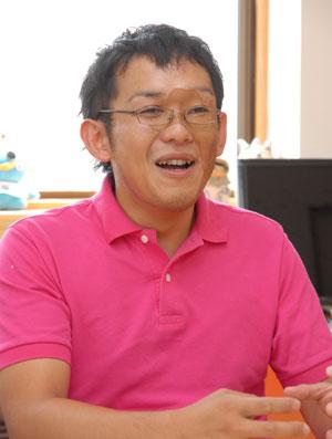 特定非営利活動法人、楽笑、理事長、小田泰久也氏